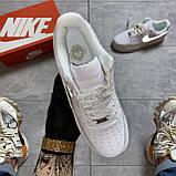 Кроссовки Nike Air Force 1 Low White Reflective, кроссовки найк аир форс 1 '07, кросівки Nike Air Force 1 '07, фото 7