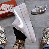 Кроссовки Nike Air Force 1 Low White Reflective, кроссовки найк аир форс 1 '07, кросівки Nike Air Force 1 '07, фото 8