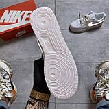 Кроссовки Nike Air Force 1 Low White Reflective, кроссовки найк аир форс 1 '07, кросівки Nike Air Force 1 '07, фото 9