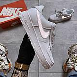 Кроссовки Nike Air Force 1 Low White Reflective, кроссовки найк аир форс 1 '07, кросівки Nike Air Force 1 '07, фото 6