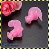 Беруши для плавания силиконовые Silenta Swim Pro, розовый  цвет. Акция!