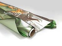 Полисилк на разрез,светло-зеленый( 1 лист 0.5м*1м)