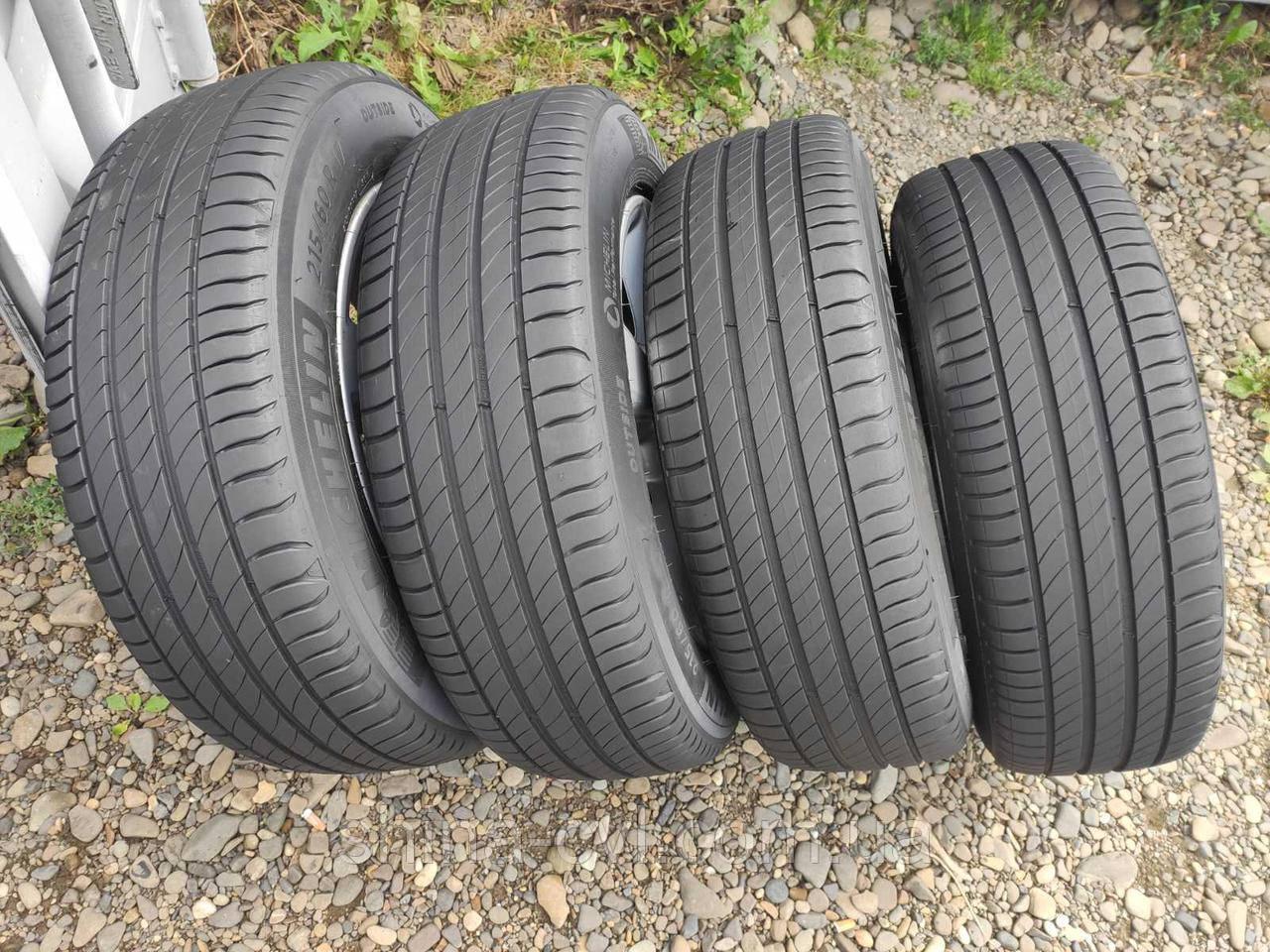 Літні шини 215/60 R17 96V MICHELIN PRIMACY 4
