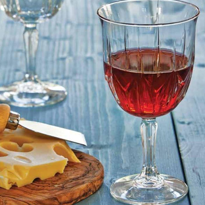 Набор стеклянных бокалов для вина Pasabahce Карат 6 шт 335 мл (440148)