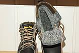 Зимние кожаные ботинки на мальчика 37,38 р арт 1022 черные Sport Stile., фото 6