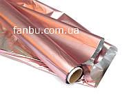 Полисилк на разрез,бледно-розовый( 1 лист 0.5м*1м)