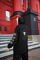 Худи оверсайз унисекс Taboo Kyiv Itachi женский XL