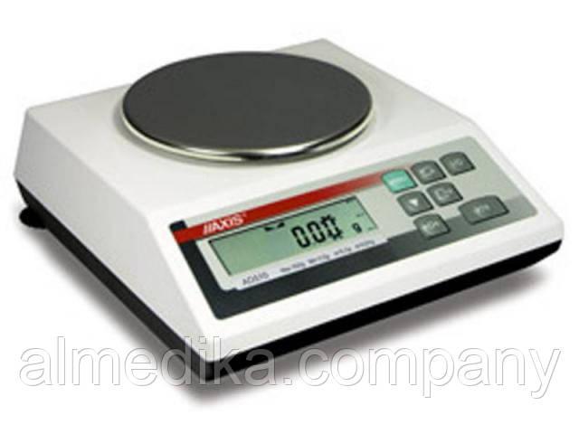 Весы AXIS A5000 IVкл (5000/2/0,1;d150мм)