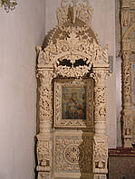 Киот напольный резной в стиле Барокко,подготовлен под позолоту, фото 1