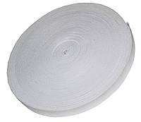 Резинка для одежды (20мм/40м) белая