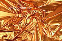 Полисилк на разрез оранжевый ( 1 лист 0.5м*1м)