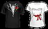 """Парные футболки """"Жених и Невеста"""""""