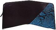 Современный женский кожаный клатч ETERNO (ЭТЕРНО),черный, ET152005-3