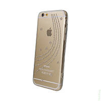 Чехол Diamond Silicon Younicou iPhone 5/5S Milky Way
