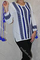 Блуза плотной машинной вязки