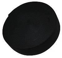 Резинка для одежды (60мм/40м) черная