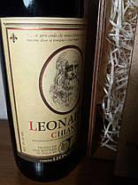 Вино 1984 года Leonardo Chianti Италия, фото 3