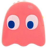 Mp3 плеер клякса из игры Pacman (Блинки, Пинки, Инки, Клайд) + наушники + кабель + коробка Клякса Пинки розовый pink