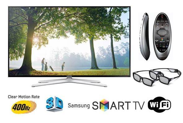 Телевизор Samsung UE40H6400 (PQI 400Гц, Full HD, Smart, Wi-Fi, 3D, пульт ДУ Touch Control)