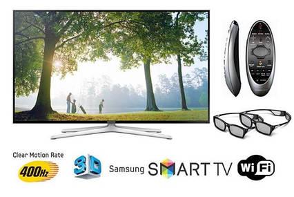 Телевизор Samsung UE40H6400 (PQI 400Гц, Full HD, Smart, Wi-Fi, 3D, пульт ДУ Touch Control), фото 2