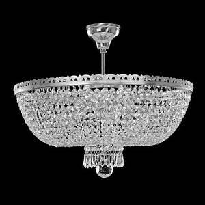 Богемская потолочная чешская хрустальная люстра