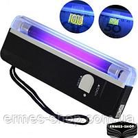 Детектор валют портативний ультрафіолетовий DL-01 | Апарат перевірки грошей, фото 3