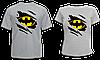 """Парные футболки """"Бетмен и Бетгёл"""""""