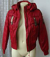 Куртка женская теплая демисезонная капюшон р.48-50 3898, фото 1