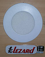 Светильник LEZARD 3Вт, 6400К