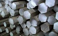 Шестигранник нержавеющий,  сталь  08/12Х18Н10(Т)-AISI304, 321