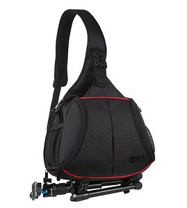 Треугольный рюкзак слинг для фото аксессуаров и фотоаппарата Puluz