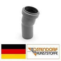 Колено PP 40х15 внутренней канализации Ostendorf HT Германия