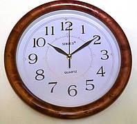 Часы настенные круглые классические(плав. стр.)