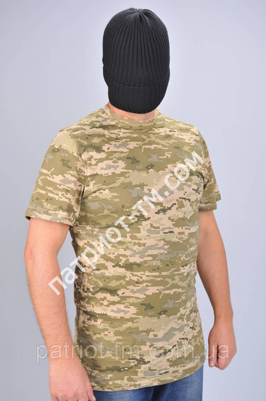 Камуфляжная футболка пиксель светлый летняя. Камуфляжна футболка -  Фабрика-магазин