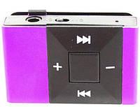 Mp3 плеер Icool в стиле Apple + наушники + кабель + коробка Фиолетовый purple