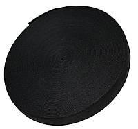 Резинка для одежды (30мм/40м) черная, фото 1