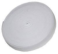 Резинка для одежды (30мм/40м) белая