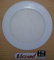 Светодиодная панель круглая-9Вт (Ø145 / Ø132) 6400K, 710 люмен