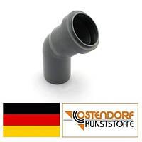 Колено PP 40х45 внутренней канализации Ostendorf HT Германия