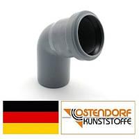 Колено PP 40х87 внутренней канализации Ostendorf HT Германия