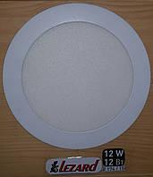 Светодиодная панель круглая-12Вт (Ø174 / Ø158) 6400K, 950 люмен