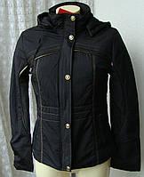Куртка женская теплая демисезонная капюшон р.44 3901