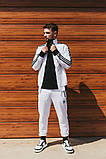 Чоловічий спортивний костюм Adidas (Олімпійка +штани), фото 4