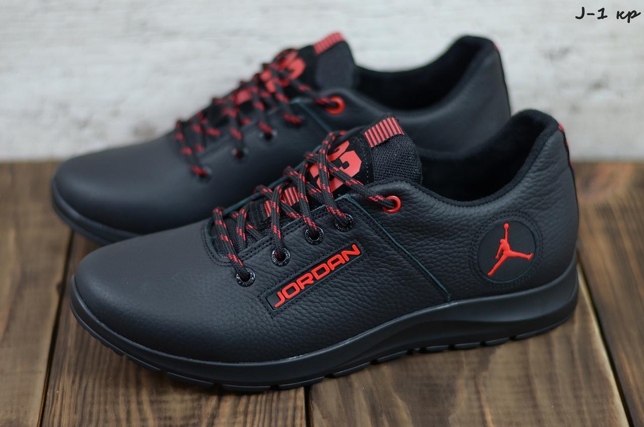 Чоловічі шкіряні кросівки Jordan