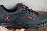 Чоловічі шкіряні кросівки Jordan, фото 2
