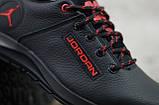Чоловічі шкіряні кросівки Jordan, фото 3