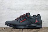 Чоловічі шкіряні кросівки Jordan, фото 5