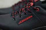 Чоловічі шкіряні кросівки Jordan, фото 6
