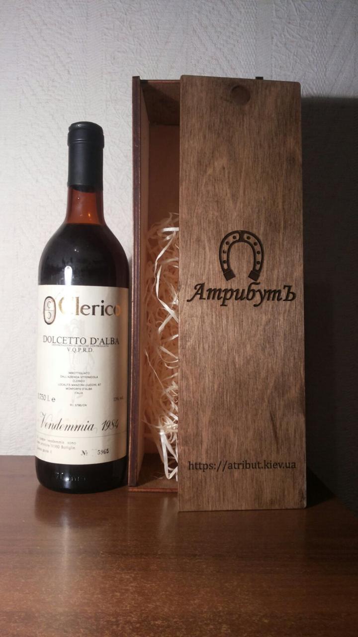 Вино 1984 року Dolcetto D Alba Італія