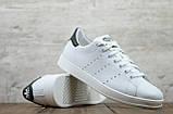 Чоловічі шкіряні кеди/кросівки Adidas Stan Smith, фото 7